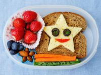 Gemischter Teller zum Frühstück