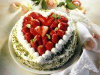 Fürst Pückler Torte mit Erdbeeren