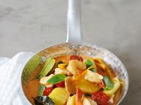 Garnelen-Ananas-Curry