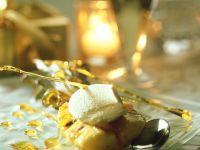 Gebackene Ananas mit Karamell