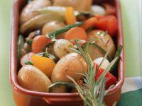 Gebratener Gemüse
