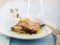 gebratener Thunfisch mit Orangenöl