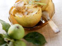 Gefüllte Äpfel mit Camembert und Pilzen