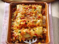 Gefüllte Cannelloni mit Gemüsesoße