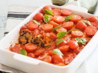 Gefüllte Cannelloni mit Tomaten