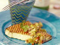 Gegrillter Fisch mit Salsa