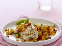 Gegrilltes Hähnchenfilet mit Mango-Salsa