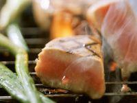 Gegrilltes Thunfischsteak