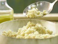 Gekochter Quinoa