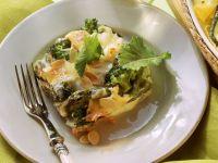 Gemüse-Auflauf mit Schinken