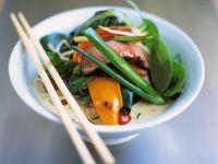 Gemüse-Curry mit Ente