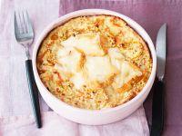 Gemüse-Hirseauflauf mit Käse