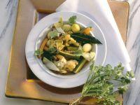 Gemüse nach griechischer Art