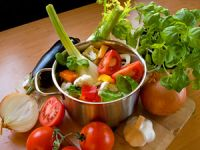 Gemüse schonend zubereiten