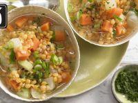 Gemüseeintopf mit Linsen für den Thermomix®