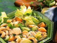 Gemüseeintopf mit Nudeln und Pute
