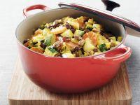 Gemüsetopf mit Sahnesoße
