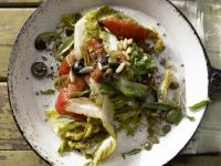 Geschmorter Römersalat