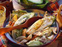 Geschmorter Weißkohl mit Karotten