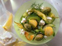 Geschmortes Gurken-Kartoffel-Gemüse