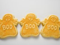 Gespenster-Kekse zu Halloween