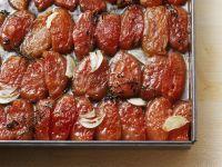 Getrocknete Tomaten aus dem Ofen
