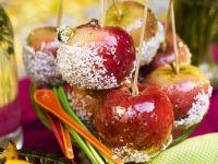 Glasierte Äpfel (Liebesäpfel)
