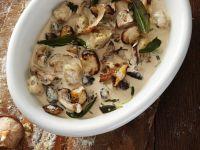 Gnocchi mit cremiger Pilzsauce