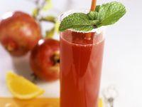 Granatapfel-Orangen-Mix