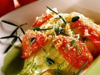 Gratinierter Fenchel mit Tomaten
