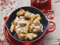Grießschmarrn mit Kirschen
