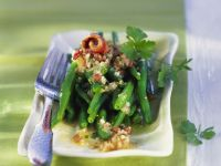 Grüner Bohnensalat mit Anchovis