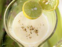 Grüner Spargel mit Zitronensauce