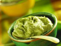 Grüner Tee-Creme