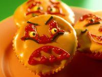 Gruselige Halloween-Muffins