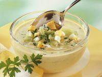 Gurken-Kefirsuppe