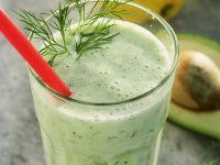 Gurken-Smoothie mit Avocado