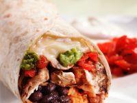 Hähnchen-Burrito