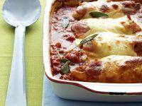 Hähnchen-Gratin mit Mozzarella