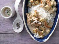 Kochbuch für Hähnchengeschnetzeltes-Rezepte