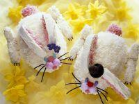 Häschen-Kuchen zu Ostern