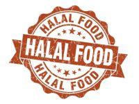 Logo mit Halal Food