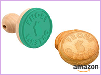 Keks-Stempel mit Osterhasen