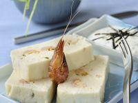 Hechtterrine mit Shrimps