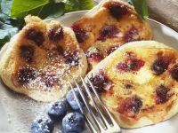 Heidelbeer-Pancakes