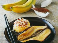 Heiße Kokos-Banane