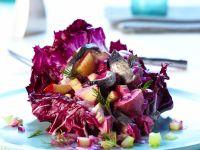 Hering-Apfel-Salat