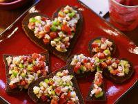 Heringssalat-Häppchen