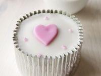Herz-Cupcake