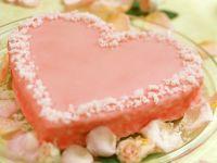Herzkuchen mit Zuckerguss